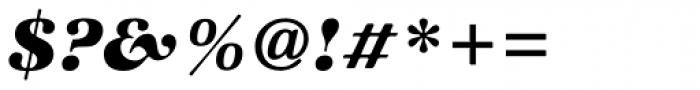ITC Zapf International Std Heavy Italic Font OTHER CHARS