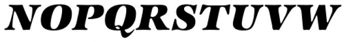 ITC Zapf International Std Heavy Italic Font UPPERCASE