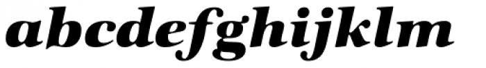 ITC Zapf International Std Heavy Italic Font LOWERCASE
