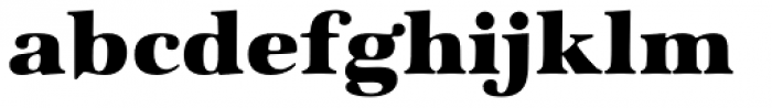 ITC Zapf International Std Heavy Font LOWERCASE