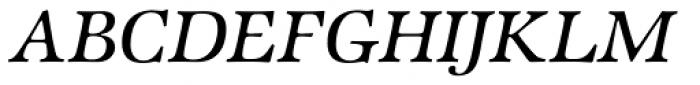 ITC Zapf International Std Medium Italic Font UPPERCASE