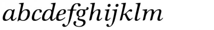 ITC Zapf International Std Medium Italic Font LOWERCASE