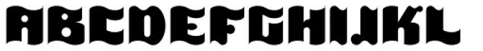 It EF Font UPPERCASE