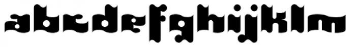 It EF Font LOWERCASE