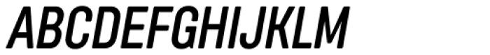 Itaca Condensed Bold Italic Font UPPERCASE