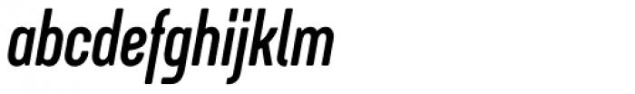Itaca Condensed Bold Italic Font LOWERCASE