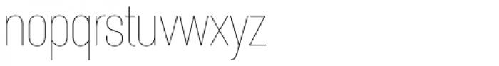 Itaca Condensed Thin Font LOWERCASE