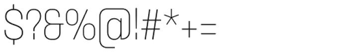 Itaca Light Font OTHER CHARS