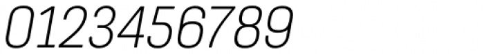 Itaca Wide Italic Font OTHER CHARS