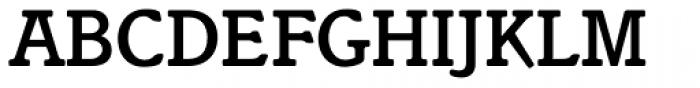 Italia Medium Font UPPERCASE