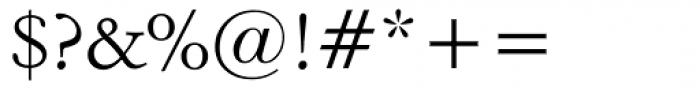 Italian Garamond Font OTHER CHARS