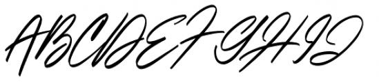 Italian Horskey Regular Font UPPERCASE