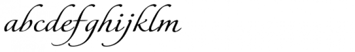 Italican Script Expand Font LOWERCASE