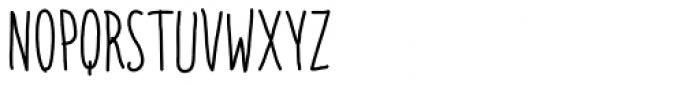 Italo Regular Font UPPERCASE
