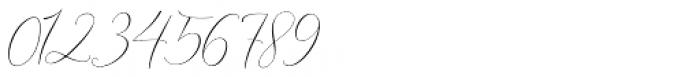 Ithalia script Regular Font OTHER CHARS