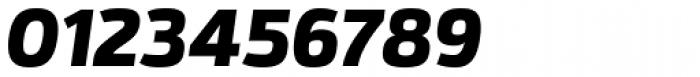 Itoya Extra Bold Italic Font OTHER CHARS