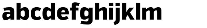 Itoya Extra Bold Font LOWERCASE