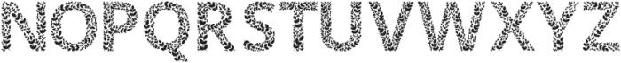 Ivory Black otf (900) Font UPPERCASE