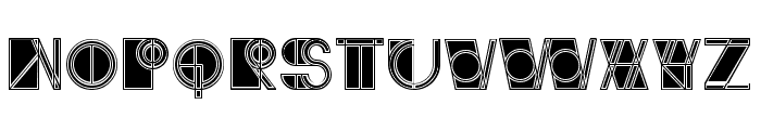 Ivan Linear Filled Regular Font LOWERCASE