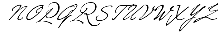 Ivana Script Regular Font UPPERCASE