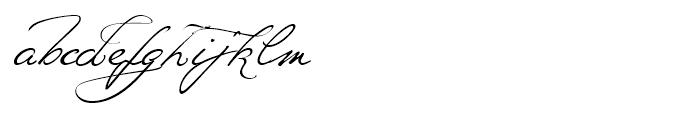 Ivana Script Regular Font LOWERCASE