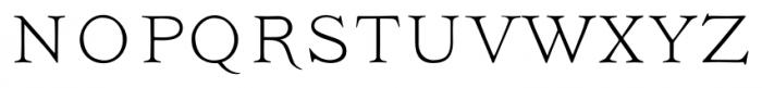 Ivory Headline Font LOWERCASE