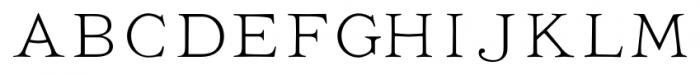 Ivory No Swashes Font LOWERCASE