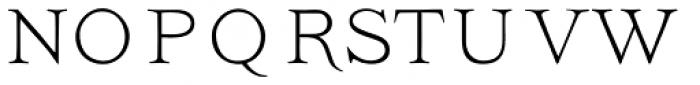 Ivory NoSwashes Font UPPERCASE