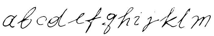 Iwfxv03 Font LOWERCASE