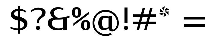 Iwona-Bold Font OTHER CHARS