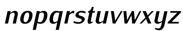 Iwona-BoldItalic Font LOWERCASE