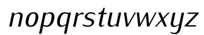 Iwona-Italic Font LOWERCASE