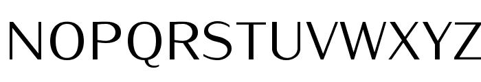 Iwona-Regular Font UPPERCASE