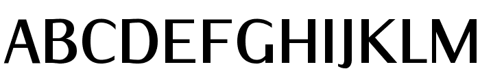 IwonaCond-Bold Font UPPERCASE