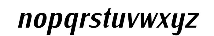IwonaCond-BoldItalic Font LOWERCASE