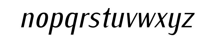 IwonaCond-Italic Font LOWERCASE