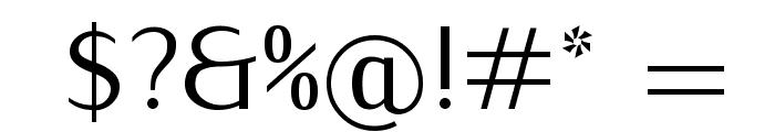 IwonaCond-Regular Font OTHER CHARS