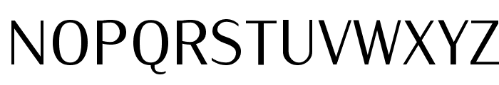 IwonaCond-Regular Font UPPERCASE