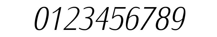 IwonaCondLight-Italic Font OTHER CHARS