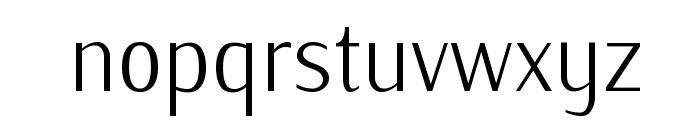 IwonaCondLight-Regular Font LOWERCASE