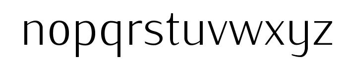IwonaLight-Regular Font LOWERCASE