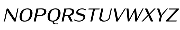 IwonaMedium-Italic Font UPPERCASE