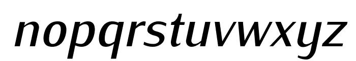 IwonaMedium-Italic Font LOWERCASE