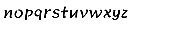 Iwata Gyousho Bold Font LOWERCASE
