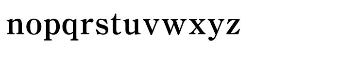 Iwata Mincho Old Bold Font LOWERCASE