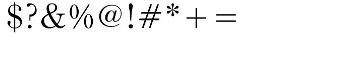 Iwata Mincho Thin Font OTHER CHARS