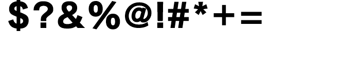 Iwata New Gothic Std Extrabold Font OTHER CHARS