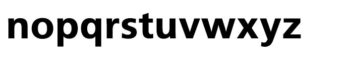 Iwata UD Gothic Display Heavy Font LOWERCASE