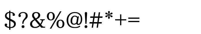 Iwata UD Mincho Pr6 Demibold Font OTHER CHARS