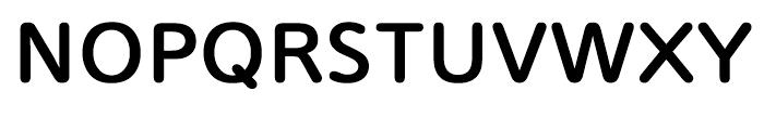 Iwata UD R Gothic Bold Font UPPERCASE